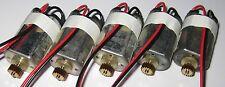 5 X Canon DN22 Electric Motor w Gear - Hobby Train Toy Model Japan Geared Motor