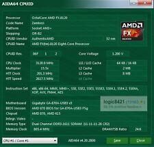 AMD FX-8120 3.1GHz FD8120FRW8KGU AM3+ Eight Core Processor