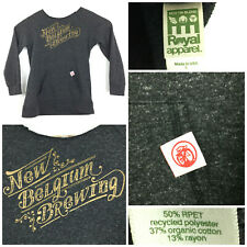 New listing New Belgium Brewing Womens Large (38in Bust) Organic Cotton Blend Sweatshirt Usa