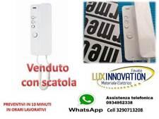 CITOFONO URMET 1150/1 VECCHIO ARTICOLO 1133/1 CON SCATOLO CORNETTA ELETTRONICA 5