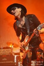 2 special priced 8x10 (after matting) matted Steve Vai photos