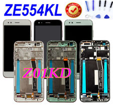 For Asus ZenFone 4 ZE554KL Z01KD SD660 LCD Touch Screen Digitizer Assembly+Frame