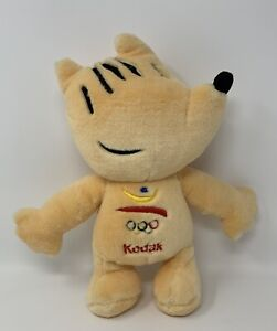 "Cobi Barcelona 1992 Olympic Mascot Plush Stuffed Animal Kodak 12"""