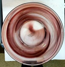 Home Interiors & Gifts Decorative Bowl &/Or Candle Holder Glass 92073 New