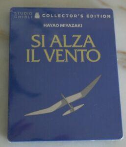 SI ALZA IL VENTO - Steelbook (Studio Ghibli)