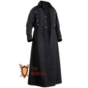 Kandor Greatcoat Medieval Renaissance Plane cotton coat tunic costume sca Larp