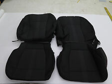 2015 2016 Ford F150 truck XLT OEM front seat cover set black Ebony cloth