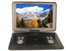 15.4'' Portable CD/DVD Player, HD Widescreen Display Built-in Rechargbl