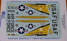 Microscale Decal 1:48 Scale #48-1007 / Convair F-106A Delta Dart: 5th FIS