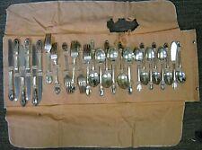 26 Pc WM A Rogers Oneida Park Lane-Chatelaine-Dowry Silverplate 1957 Silverware