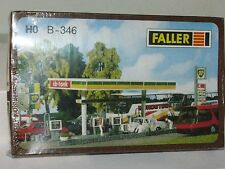 Faller HO scale B-346 Fueling Station Kit