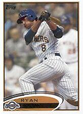 A6779- 2012 Topps Baseball Card #s 1-250 +Rookies -You Pick- 10+ FREE US SHIP