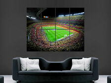 NOU CAMP  CAMP NOU BARCELONA FC FOOTBALL ART WALL LARGE IMAGE GIANT POSTER !