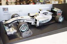Formule 1 2010 Mercedes GP f1 équipe N. rosberg #4 1:18 MINICHAMPS NEUF & OVP