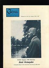 Henk Vermeyden Fism Genii Magicians Magazine April1970 - contents in post