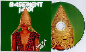 BASEMENT JAXX Back 2 The Wild 2013 UK 1-trk promo test press CD