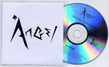 ANGEL About Time Sampler UK numbered 5-trk promo test CD + press release