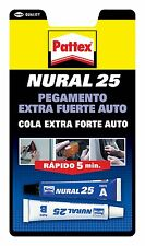 Pegamento Extrafuerte NURAL 25 Adhesivo Transparente Goma, plastico, madera ...