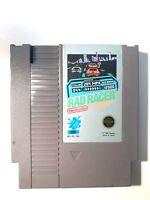 Rad Racer ORIGINAL Nintendo NES Racing Game - Tested + Working & Authentic!