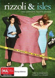 Rizzoli and Isles - Season 4 (DVD, 4 Disc Set) Region 4 - NEW+SEALED