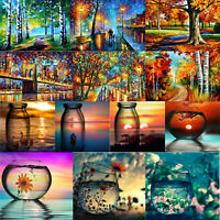 5D DIY Full Drill Diamond Painting Mosaic Cross Stitch Embroidery Kit Home Decor