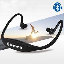 Bluetooth 4.0 Wireless Headset Earphone Sport Handfree Universal For Phone new