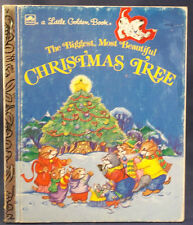 Golden Books The Biggest Most Beautiful Christmas Tree