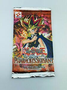 Yugioh PHARAOHS SERVANT (PSV) Sealed Original 2002 Booster Pack 1st EDITION NEW