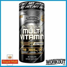 MUSCLETECH PLATINUM Multi Vitamin Amino minerali ad alta potenza Advanced 90 schede