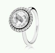 190904CZ Genuine Pandora Sterling Silver CZ Statement Stacker Ring SIZE 52 £90
