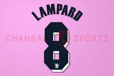 Lampard #8 2011-2012 Chelsea UEFA Champions League Awaykit Nameset Printing