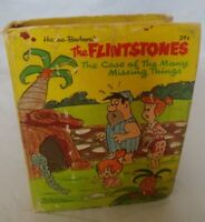#14 1960'S BIG LITTLE BOOK THE FLINTSTONES THE CASE OF THE MANY MISSING THINGS