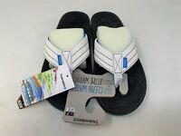 NEW! Freewaters Men's Rocker Sandals White/Blue Size:7 176C z