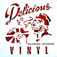 """This Is Delicious - Eat To The Beat Vinyl 12"""" Various Artists Compilation LP"""