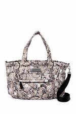 NWT Marc Jacobs Gray Multi Quilted Paisley Nylon ElizABaby Diaper Baby Bag Tote