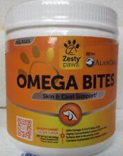 New listing Zesty Paws Omega 3 Salmon Bites + Wild Alaskan Salmon Oil - 90 Softchews