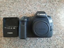 Canon EOS 6D 20.2MP Digital SLR Camera - Black (Body Only), USED AS IS