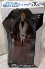 "STAR WARS - Boxed Rare Ultimate 1/4 Quarter Scale 18"" Obi-Wan Kenobi Art Asylum"