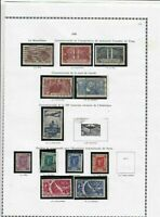 france 1936 stamps page ref 19842