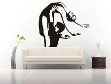 Wall Room Decor Art Vinyl Sticker Mural Decal Ballet Dance Women Ballerina FI356