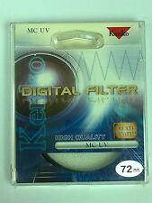 Genuine Kenko 72mm HIGH QUALITY MC UV Filter