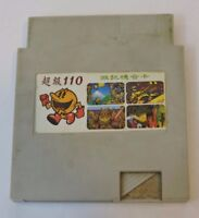 110 In 1 Multicart Rare Nintendo NES Video Game Classic Cartridge Only PAC Man