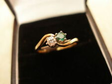 Emerald Engagement Natural Fine Rings