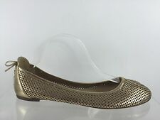 J Crew Womens Metallic Gold Leather Flats 11