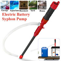HD Deluxe Liquid Transfer Syphon Pump Battery Powered Gas Water Bathroom Pond