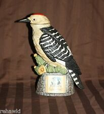 Ski Country Red Headed Woodpecker decanter 1972 like Jim Beam Limited Edition