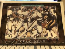 Dan Marino Great Athlete Series by Rick Rush Vignette with only 5000 - COA