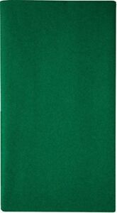 Mitteldecke Uni Dunkelgrün 80x80cm aus Airlaid (stoffähnlich, samtweicher Stoff)