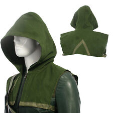 Green Arrow Oliver Queen XMAS Cosplay Costume Outfit Halloween Green Hood Only