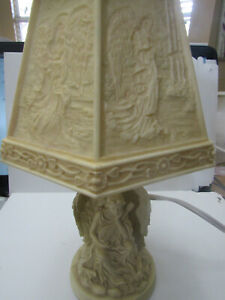 Small Angel Table Lithophane Lamp
